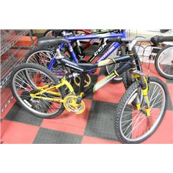 TECHTEAM 21 FULL SUSPENSION MOUNTAIN BIKE