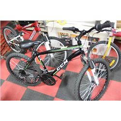 CCM 21 SPEED MOUNTAIN BIKE WITH FRONT SUPENSION