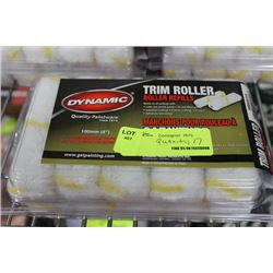 PACK OF 20 TRIM ROLLERS