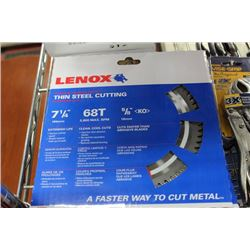 "LENOX 7 1/4"" THIN STEEL CUTTING BLADE"