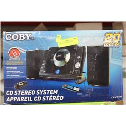 COBY CD/STEREO SYSTEM