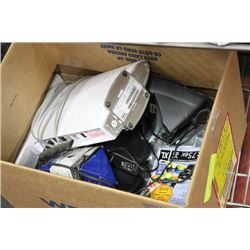 BOX OF WALL MOUNT STRAP RINGS SOLD W ROUTER AND