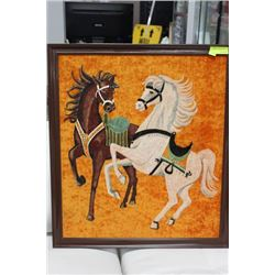 HORSE CLOTH PAINTING