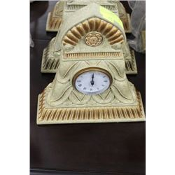 POINTED STYLE MANTLE CLOCK