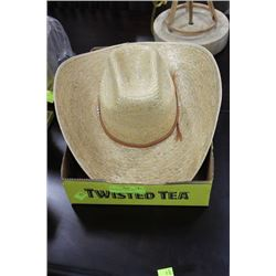 NEW STRAW COWBOY HAT