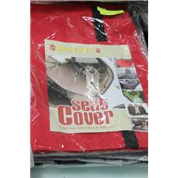 AUTOMOTIVE DOG SEAT COVER, AS THEY COME