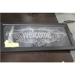 LED 'WELCOME' SIGNS