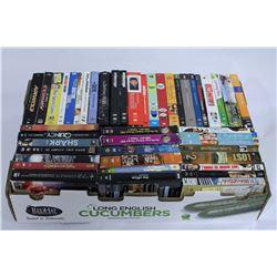 BOX OF 45 DVD TV SERIES BOX SETS