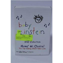 COMPLETE BABY EINSTEIN DVD COLLECTON