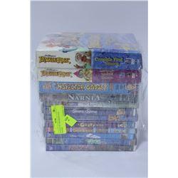 BUNDLE OF CHILDREN'S DVD MOVIES