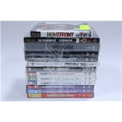 BUNDLE OF DVDS AND PS3 GAME
