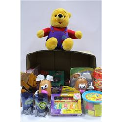 BOX OF NEW CHILDREN'S TOYS INCLUDING