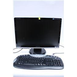 SAMSUNG COMPUTER KEYBOARD AND MONITOR