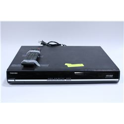 TOSHIBA  HD-DVD PLAYER WITH REMOTE, AS-IS