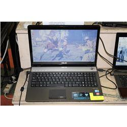 """16"""" ASUS N61 GAMING LAPTOP INTEL CORE i7 /8GB RAM"""