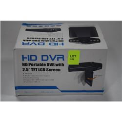 NEW HD DVR DASHCAM WITH LCD SCREEN