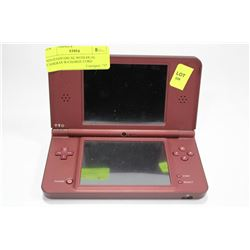 NINTENDO DSi XL WITH DUAL CAMERAS W/CHARGE CORD