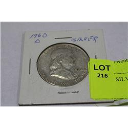 US 1960 SILVER DOLLAR