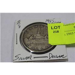 CANADA 1965 SILVER DOLLAR