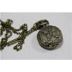 MINI BUTTERFLY POCKET WATCH