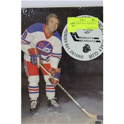 VINTAGE BOBBY HULL SIGNED 8 X 10 PICTURE