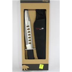 OLYMPIA 30333PKH HUNTING KNIFE WITH SHEATH