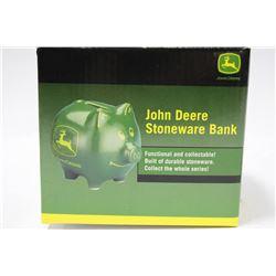 JOHN DEERE COIN BANK