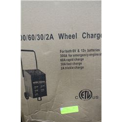 300/60/30/2A WHEEL CHARGER