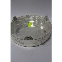 SILVERPLATED SERVING PLATTER