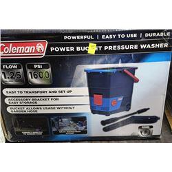 COLEMAN 1600 PSI POWER BUCKET PRESSURE WASHER
