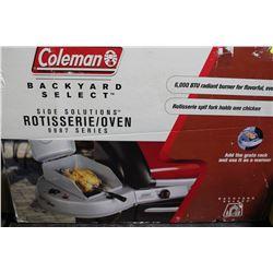 COLEMAN ROTISSERIE / OVEN