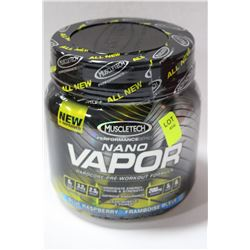 1LB OF MUSCLE TECH NANO VAPOUR PRE WORKOUT