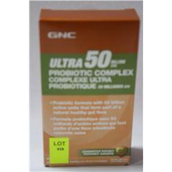 GNC ULTRA 50 PROBIOTIC COMPLEX