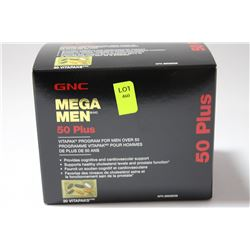 GNC MEGA MEN 50+ VITA PACKS (30)