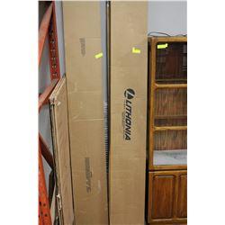 BOX OF 8' LITHONIA FLUORESCENT LIGHTS X3