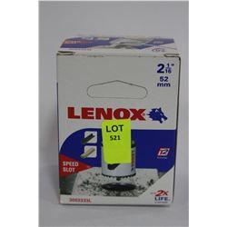 "LENOX 2 1/16"" HOLE SAW BIT"