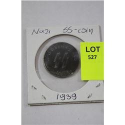 1939 NAZI SS COIN