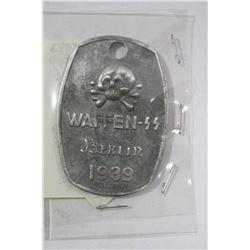 1939 GERMAN WAFFEN-SS PENDANT