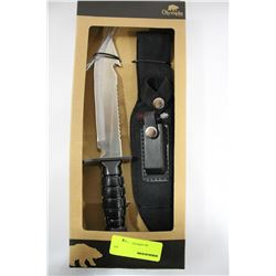 NEW OLYMPIA 30336 PKH HUNTING KNIFE W CASE