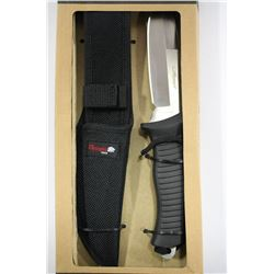 NEW OLYMPIA 30177 PKH HUNTING KNIFE W CASE
