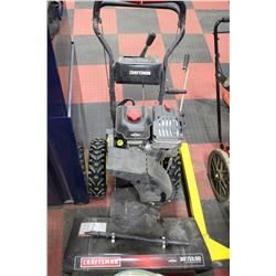 "CRAFTSMAN 30""/13.50 GAS SNOW BLOWER"