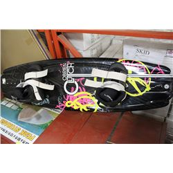 OBRIEN WATER WAKE BOARD, VERY GOOD CONDITION
