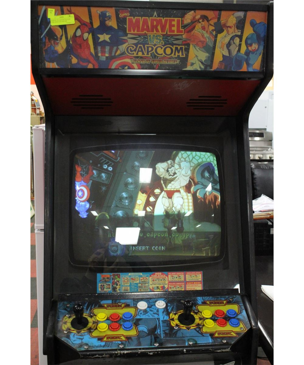 MARVEL VS CAPCOM 2 PLAYER COIN OPERATED ARCADE