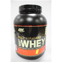 5LBS OF ON GOLD STANDARD 100% WHEY POWDER