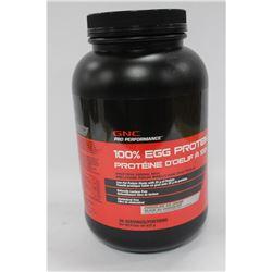 832 GRAMS GNC 100% EGG PROTEIN
