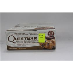 BOX W 12 CHOCOLATE CHIP COOKIE DOUGH PROTEIN