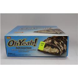 BOX OF 12 OH YEAH CHOCOLATE CARAMEL CRUNCH