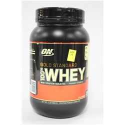2 LBS OF ON GOLD STANDARD 100% WHEY PROTEIN