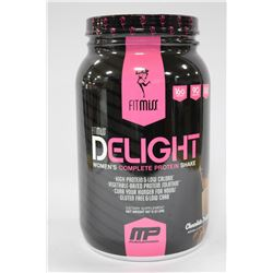 907 GRAMS FITMISS DELIGHT COMPLETE PROTEIN SHAKE