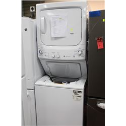 GE SPACE SAVER WASHER AND DRYER MSRP 1599.00